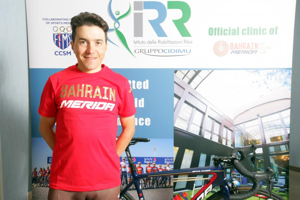 La riabilitazione di Domenico Pozzovivo all'IRR