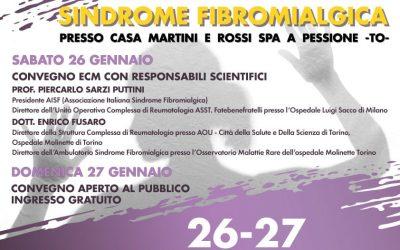 IRR: Giornate Fibromialgia 26-27 Gennaio 2019